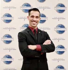Sureal Sparx at a Toastmasters Conference